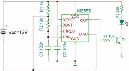 红外线发光二极管驱动电路设计
