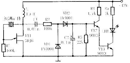 石英晶体谐振器的检测方法