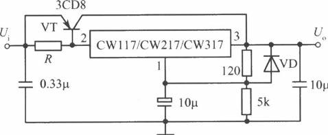 cw117/cw217/cw317多种应用电路
