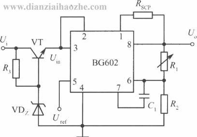 bg602集成稳压器应用电路(一)