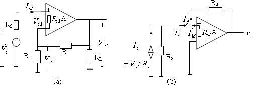"""【题目8】:对于深度负反馈放大电路,能否同时利用""""虚短""""和""""虚断""""的"""