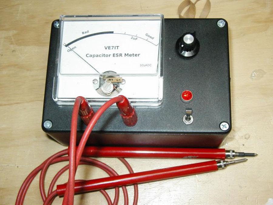 电容esr表(一) 电容esr表的特点,测量原理,电路分析