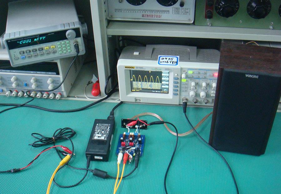 用d类功放集成电路tpa3123制作btl形式放大器
