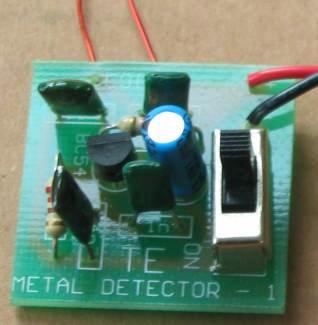 金属探测器电路两款