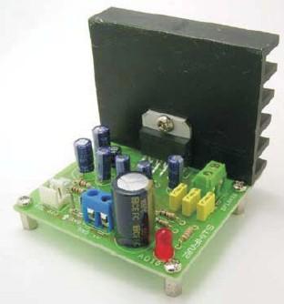 20w桥式(btl)音频功率放大器,基于tda2005立体声功率放大集成电路