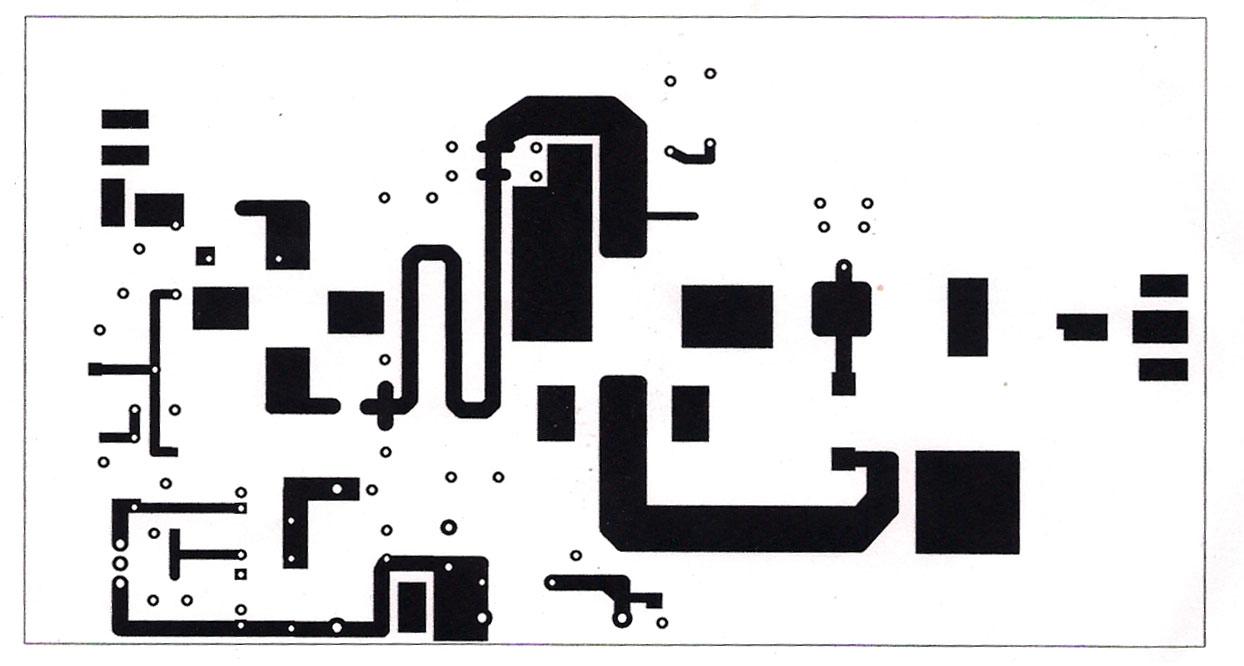 这是一台150W调频发射机放大器,88-108MHz频段。该放大器有两个放大阶段,使用BLF244场效应晶体管的第一阶段,需要0.5-1瓦RF输入功率,以获取约20瓦特输出功率,驱动最后放大阶段的SD1407可以获取接近200瓦的输出功率。这样的设计或更多或更少的宽带,我添加两个可变电容器在每个阶段获得最佳匹配。确保最后阶段SD1407后的微调和电容器是一种高电压类型,至少200V。在此放大器的电源可以通过使用电位器到BLF244场效应调节偏置电压而变化。我添加了一个齐纳二极管上的偏置电源,以保护三极管的