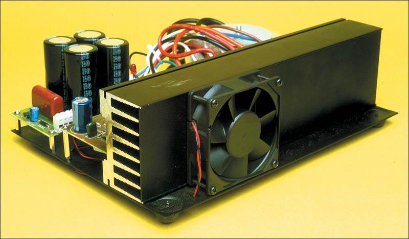 200w场效应管音频功率放大器