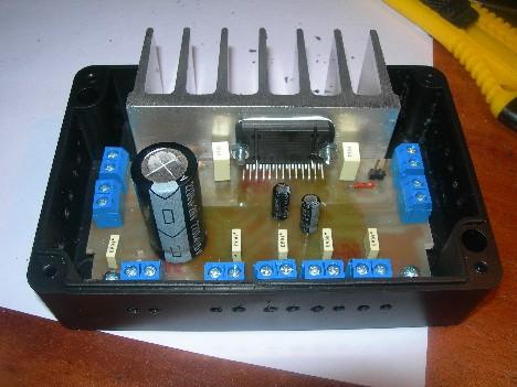4×22w汽车音响基于tda7384功放
