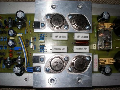 分立元件275w音频功率放大器