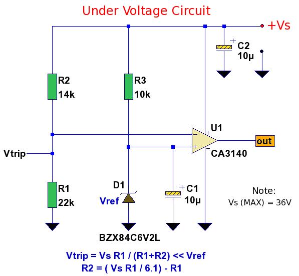 电源欠压检测电路
